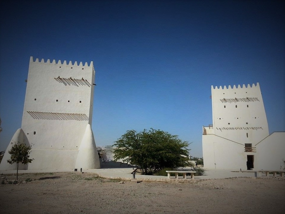 Two of the Best Preserved 18th Century Buildings Umm Salal Muhammed  Qatar