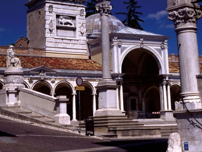 Venetian Winged Lions in Udine