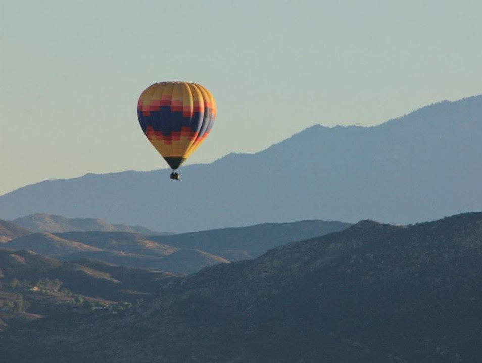 Hotair Balloon Adventure Temecula California United States
