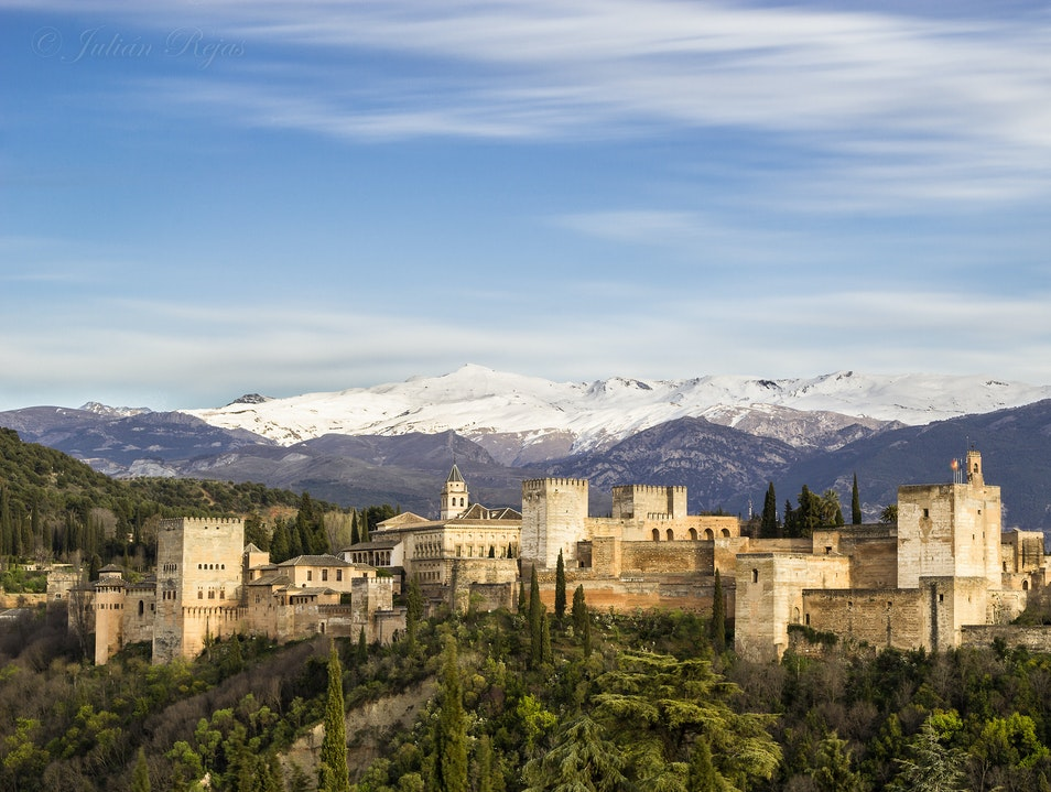 Stand in Awe of La Alhambra Granada  Spain