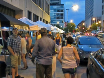 Moonlight Market at Gay Street Columbus Ohio United States