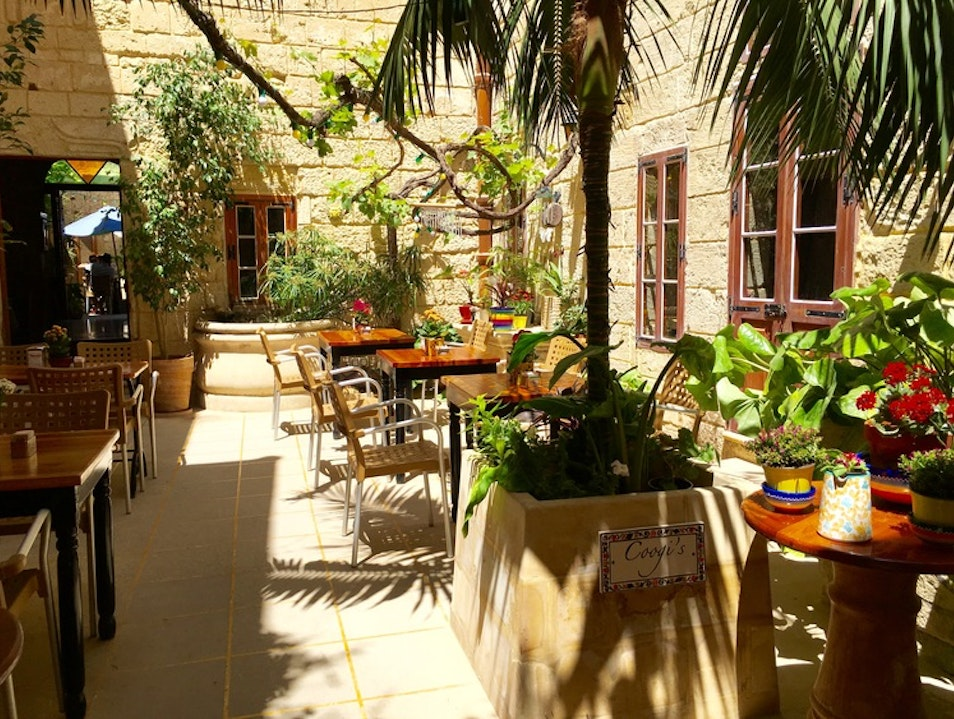 Courtyard Charm in Mdina