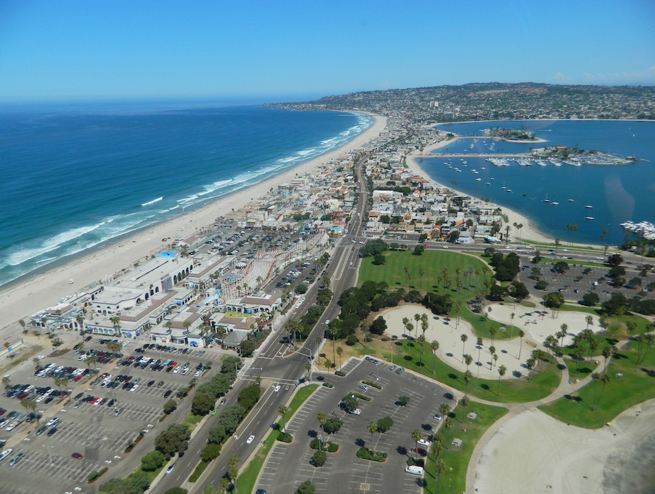Miles of beautiful beaches San Diego California United States