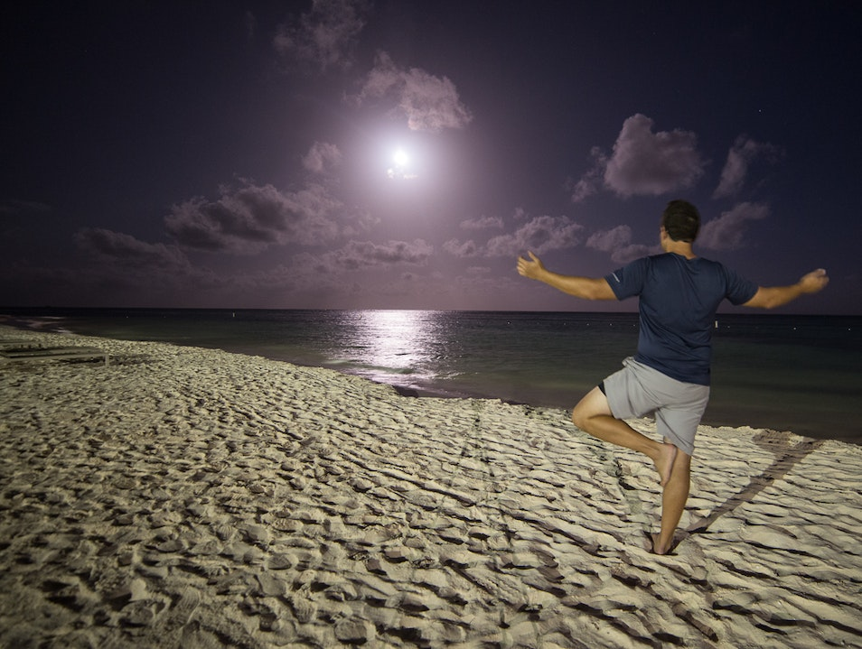 Full Moon Yoga Party Punta Cana  Dominican Republic