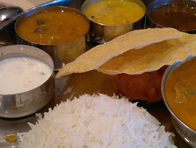 South Indian Delicacies at Chutneys