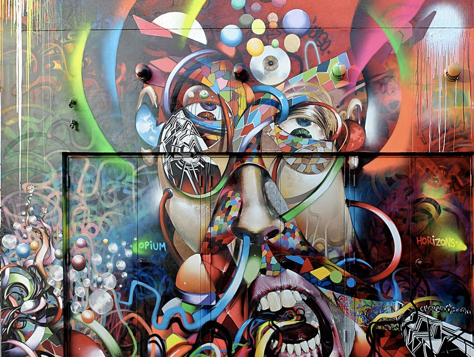 Check out Public Art in San Francisco's Clarion Alley