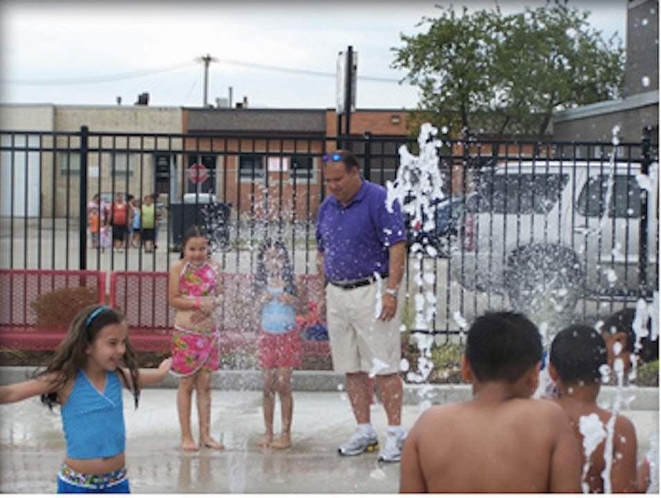 Rosemont Park District Splash Pad