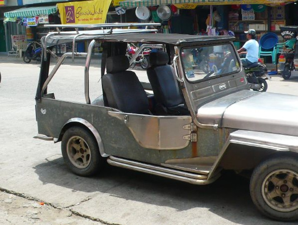 The Jeep Decades After the War Vigan City  Philippines