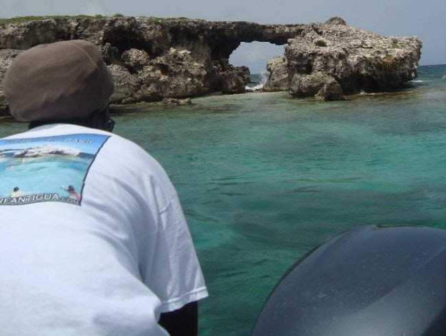 Enter Hell's Gate in Antigua