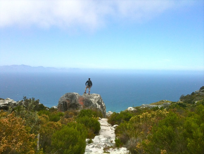 Traversing Peaks and Valleys in Cape Town
