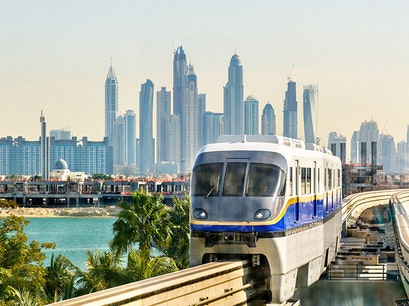 Dubai Metro Dubai  United Arab Emirates