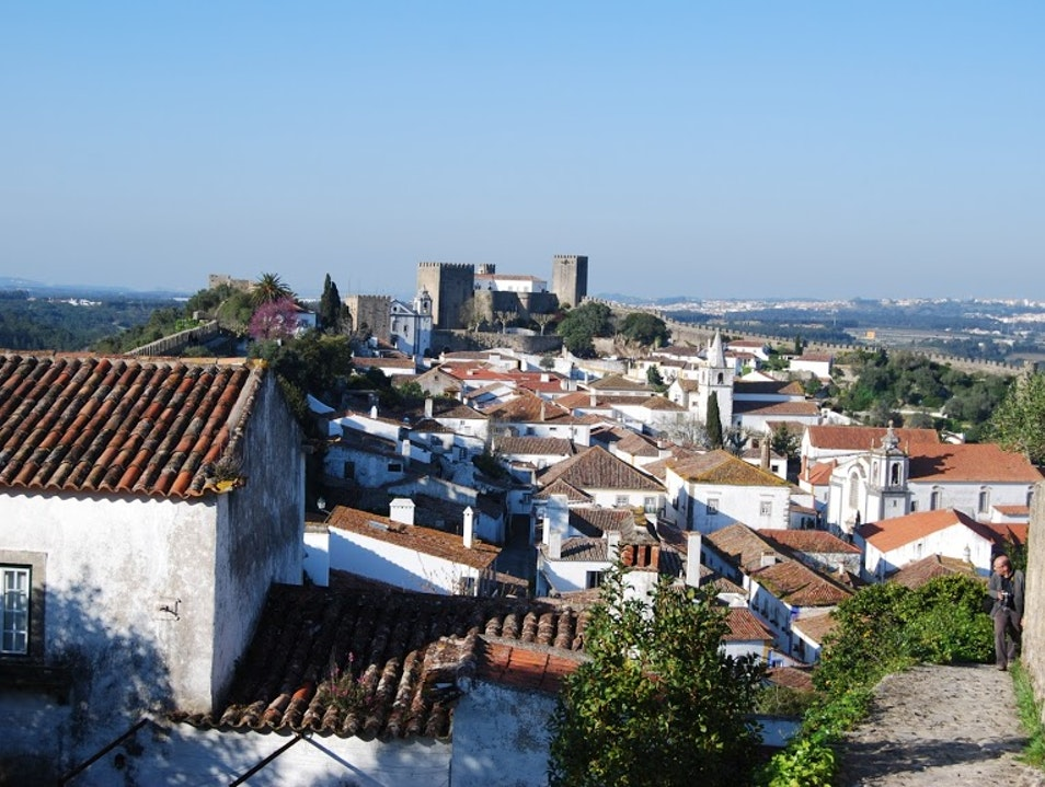 Inside the fortified walls of Óbidos there is plenty to see Óbidos  Portugal