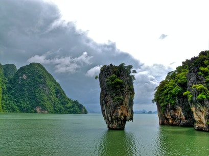 James Bond Island Ko Panyi  Thailand
