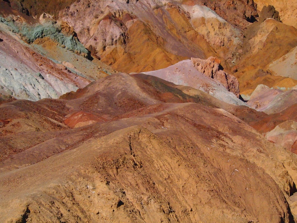 Naked Geology DEATH VALLEY California United States