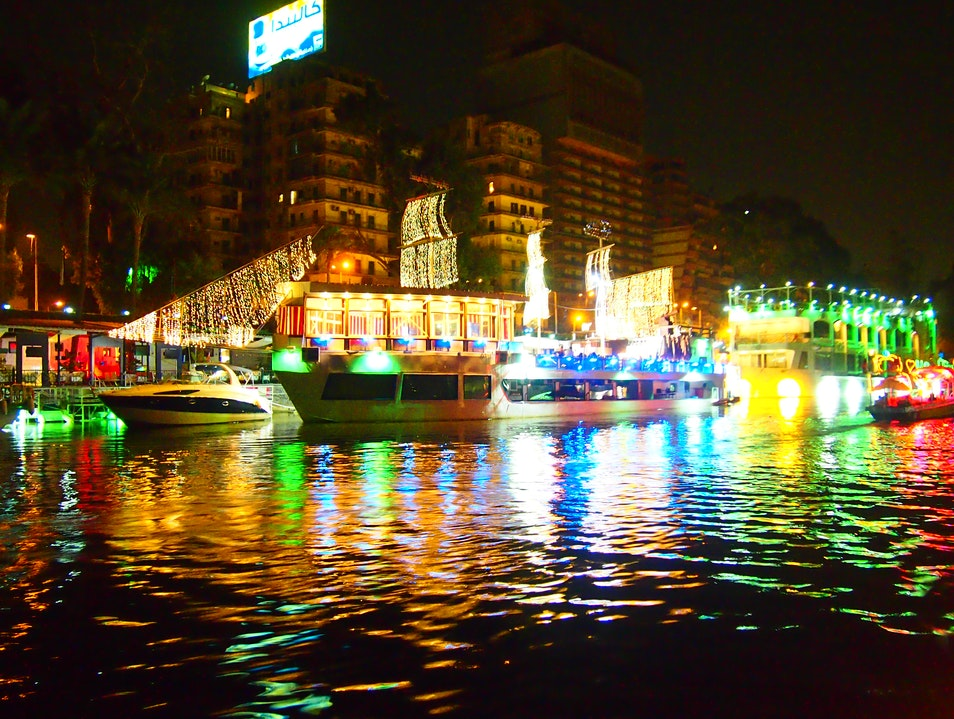 On a Boat! Cairo  Egypt