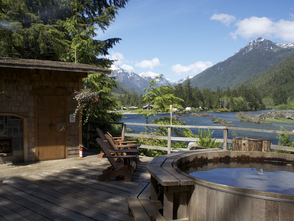 Clayoquot Wilderness Retreat Tofino  Canada