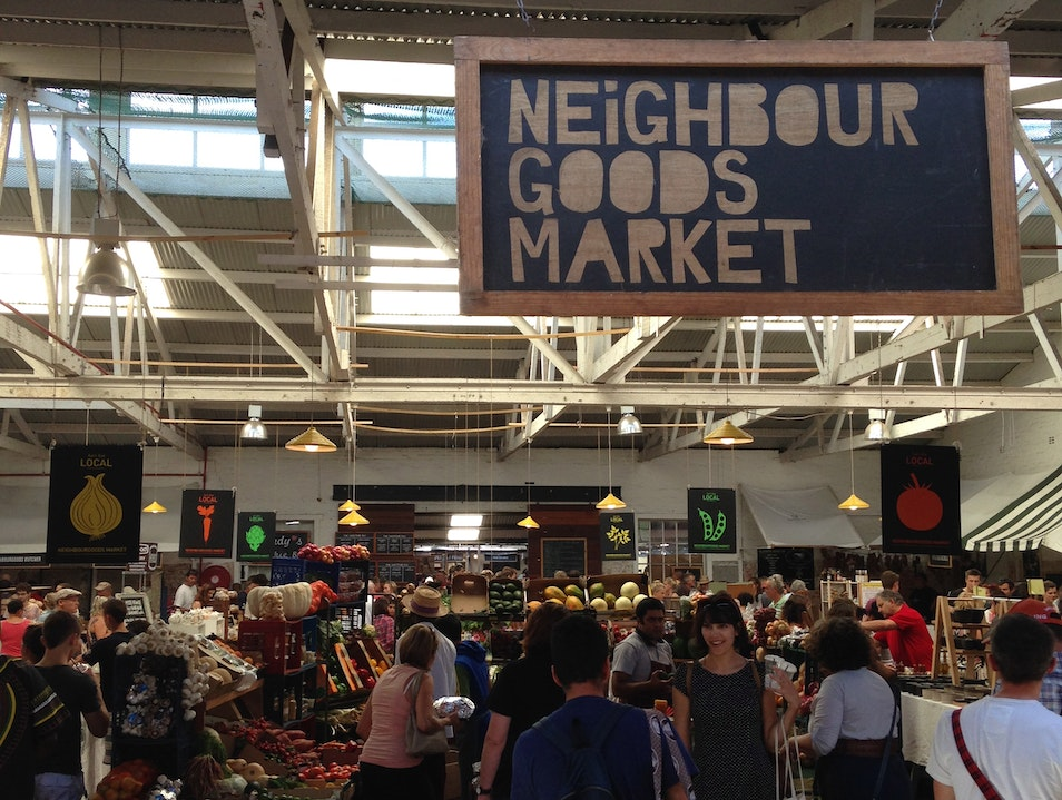 Get your gourmet on at the Neighbourhood Goods market  Cape Town  South Africa