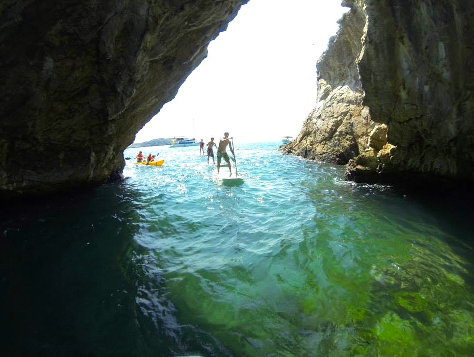 Snorkeling, Paddle Boarding and Swimming at the Marieta Islands