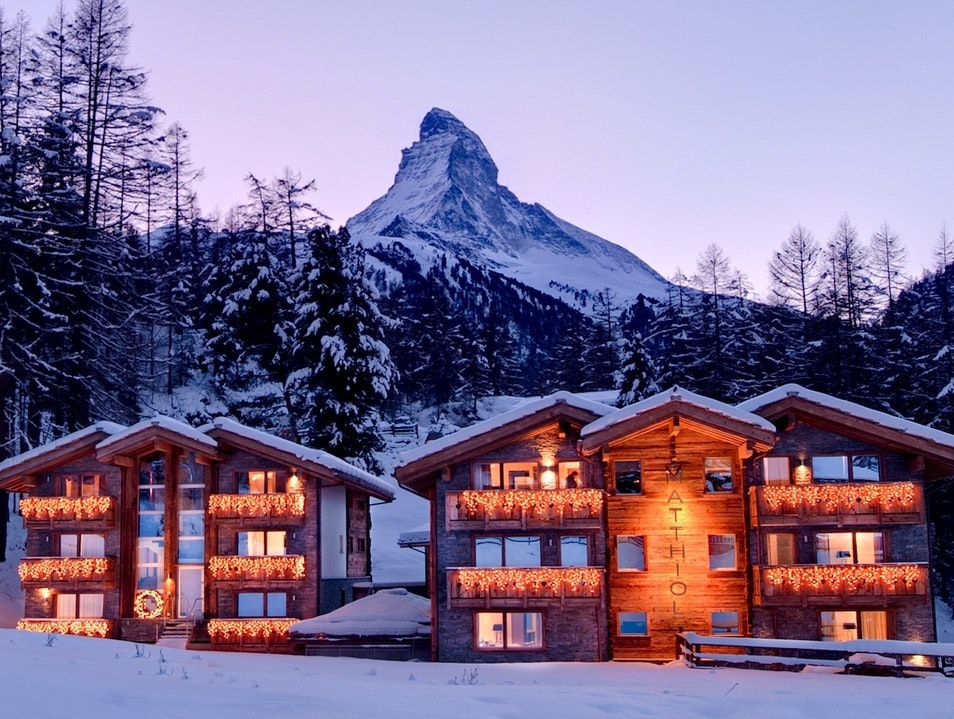 Zermatt's Winter Wonderland Zermatt  Switzerland