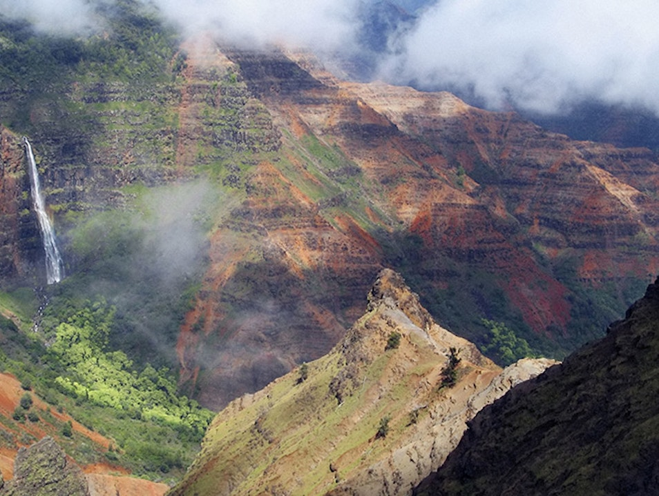 Waimea Canyon  Waimea Hawaii United States