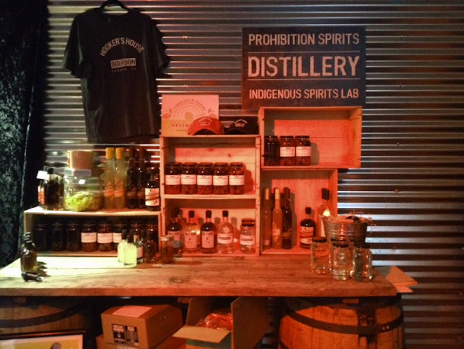 Sampling Craft Spirits in Sonoma  Sonoma California United States