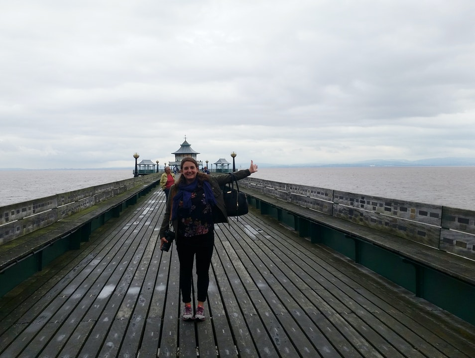 Experience the Pier of the Year Clevedon  United Kingdom