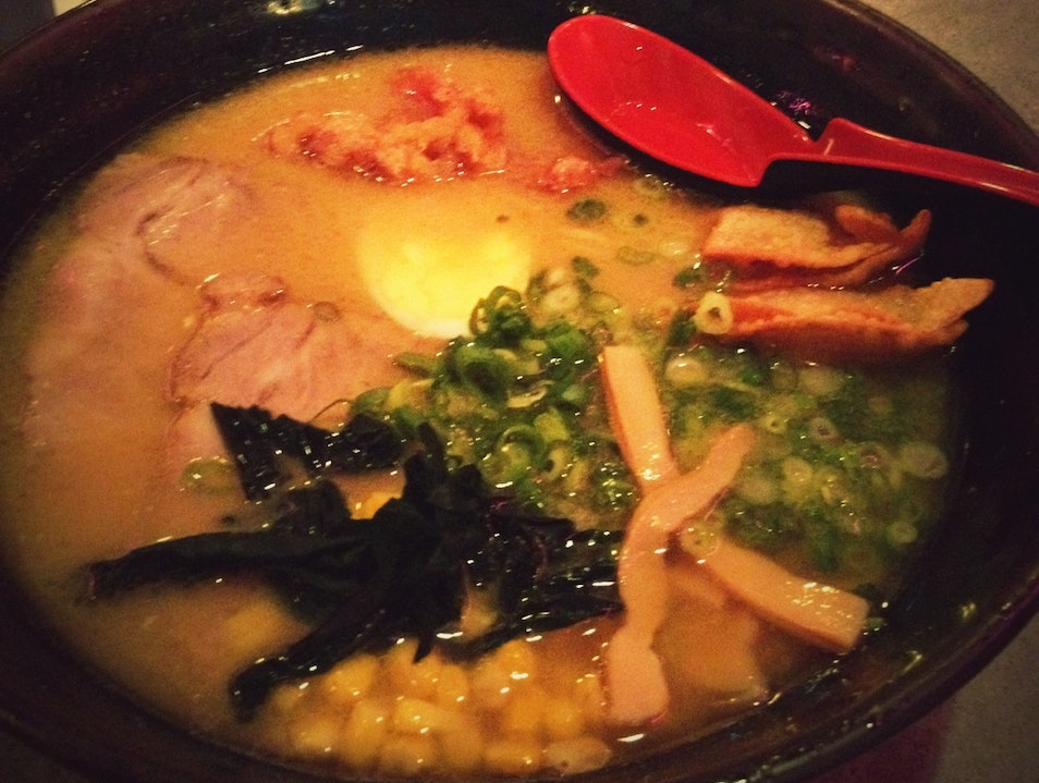 Delicious Ramen Near Union Square: Katana Ya San Francisco California United States