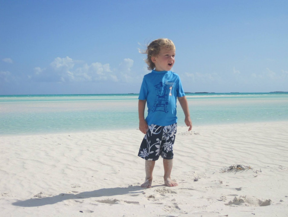 How to give your toddler a deserted island.