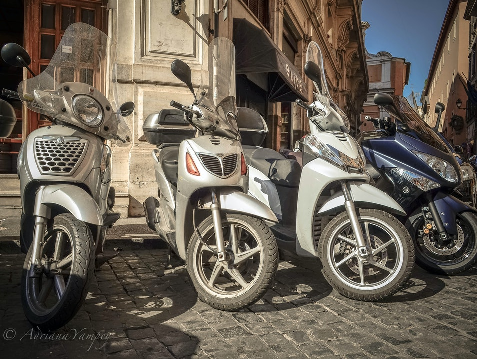 Easy transportation  Rome  Italy