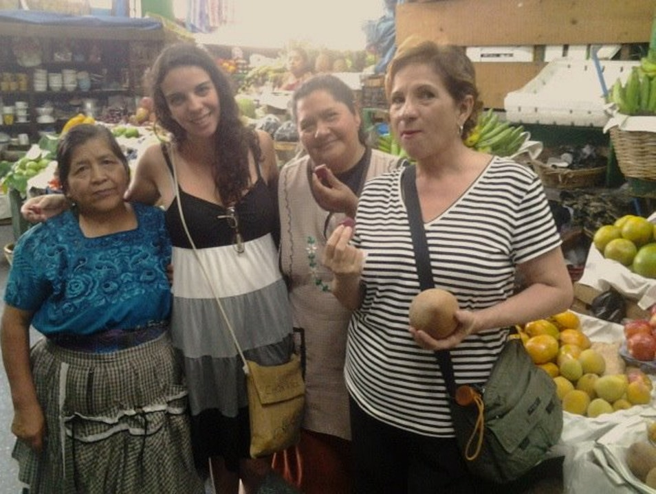 Tasting Zapote Candy with Its Makers