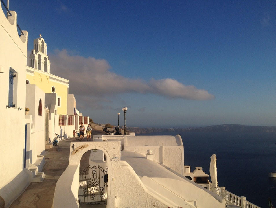 The best vistas in Santorini  Santorini  Greece