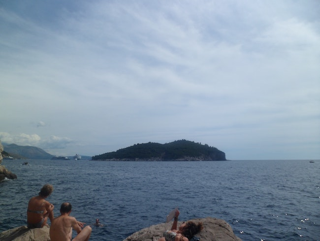 See Dubrovnik's city walls - from the sea