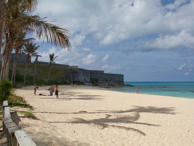 Bermuda's East End Beaches: Clearwater Beach and Fort St. Catherine Beach