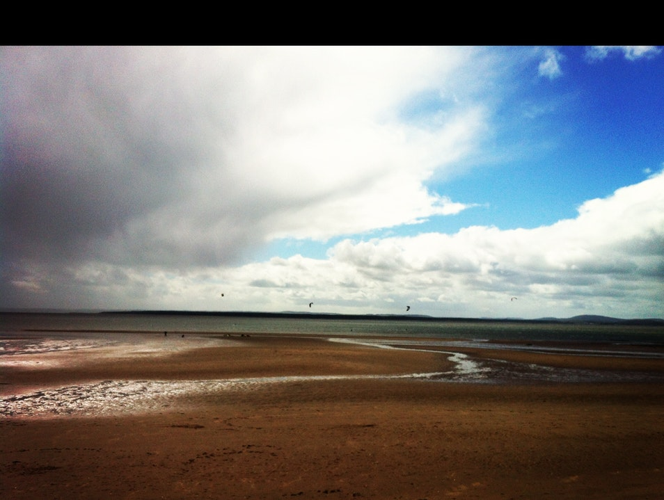 Beach Running Monifieth  United Kingdom