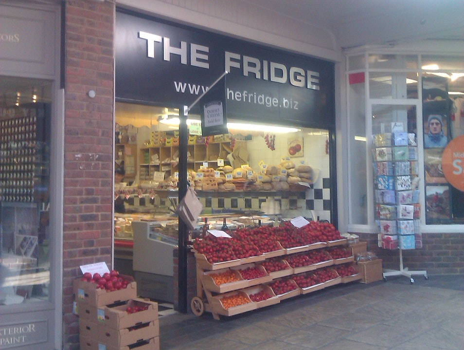 The Fridge- A Shop with a Warm Welcome Dorchester  United Kingdom