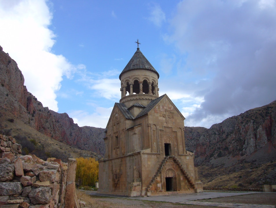 Wild West feeling in the middle of Armenia Areni  Armenia