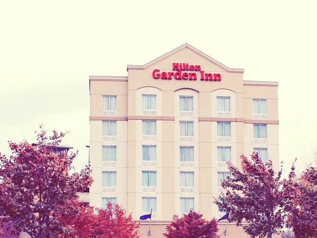 Not to worry, there's a Hilton