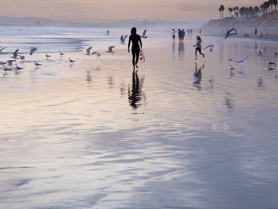 Reflection on Huntington Beach Huntington Beach California United States