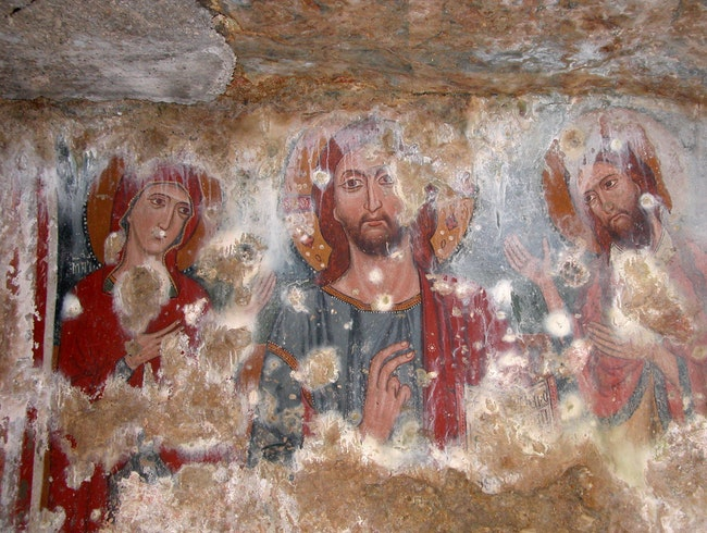 Byzantine Art Restoration in Southern Italy