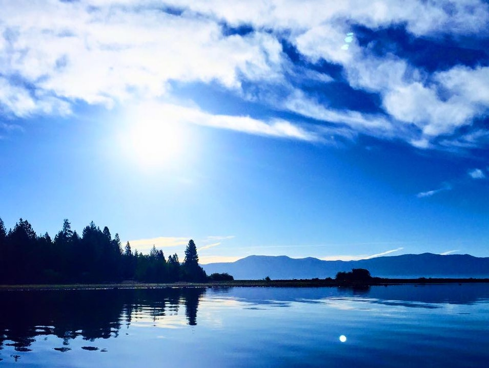 Early mornings on Lake Tahoe are what dreams are made of. Calm, relaxing, stunning, blissful. Tahoe City California United States