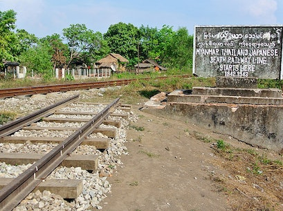 Thanbyuzayat Railway Station Thanbyuzayat  Myanmar