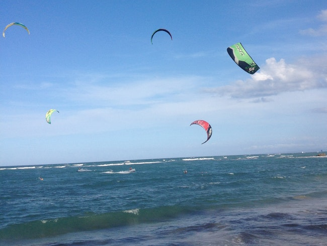 Kitesurfing Capital of the Caribbean