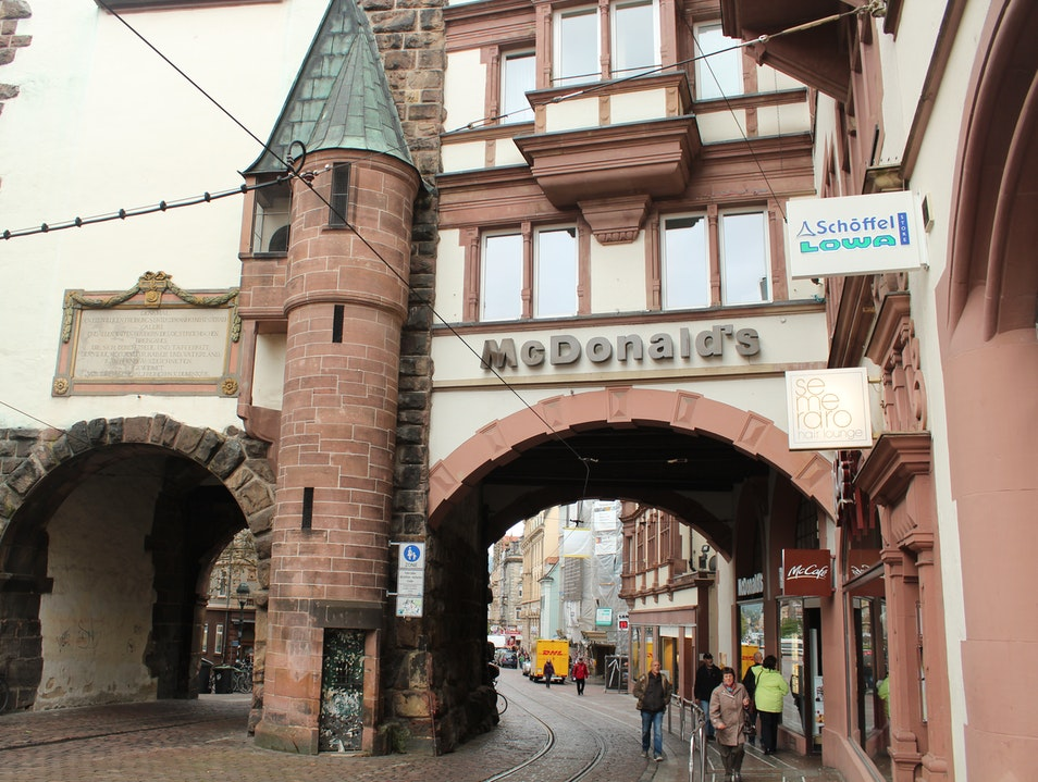 Freiburg's Old City - Picturesque Germany on the Border of the Black Forest Freiburg  Germany