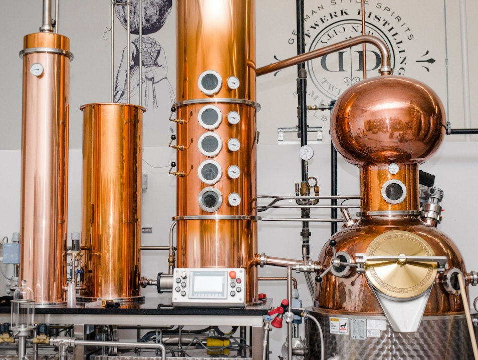 Dampfwerk Distillery Minneapolis Minnesota United States