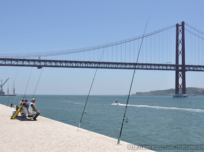 The Tagus River Lisboa  Portugal