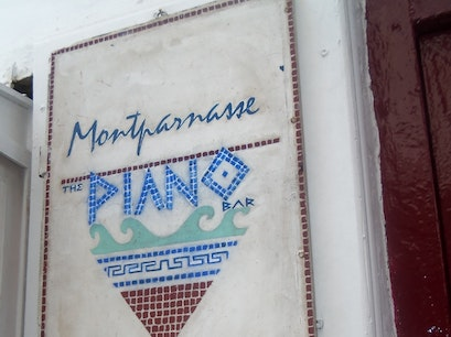 Montparnasse - the Piano Bar Mykonos  Greece
