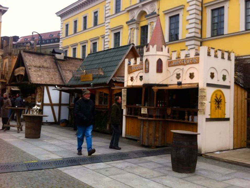 Middle Ages Christmas Market