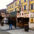 Medieval Christmas Market at Wittelsbacherplatz Munich  Germany