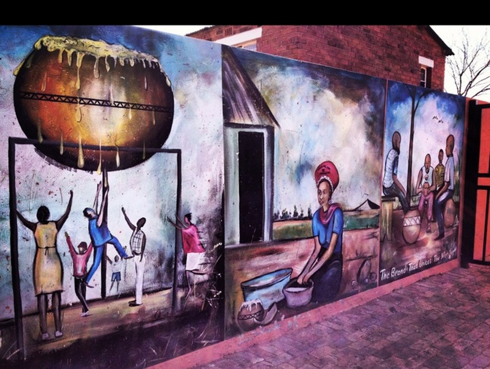 October 11, evening: Soweto Street Party