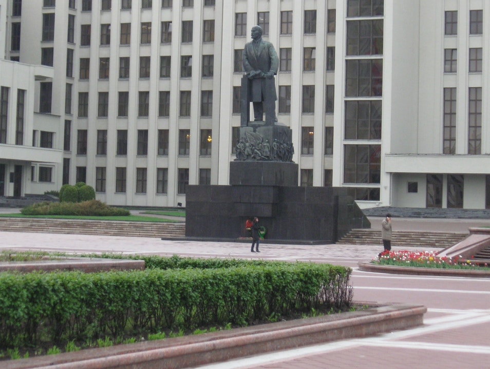 Lenin is Alive and Well in Minsk